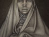 Turkana Girl ~ 27x22