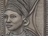 Tribal Woman ~24x18